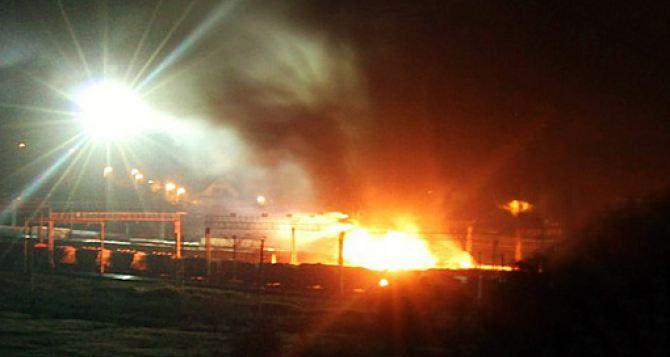 Взрыв не повлиял на работу ж/д станции в Харькове