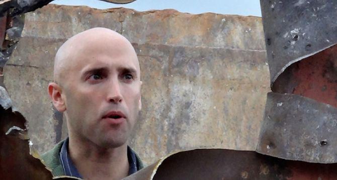 Раненый на Донбассе журналист Грэм Филлипс продолжит работу в горячей точке
