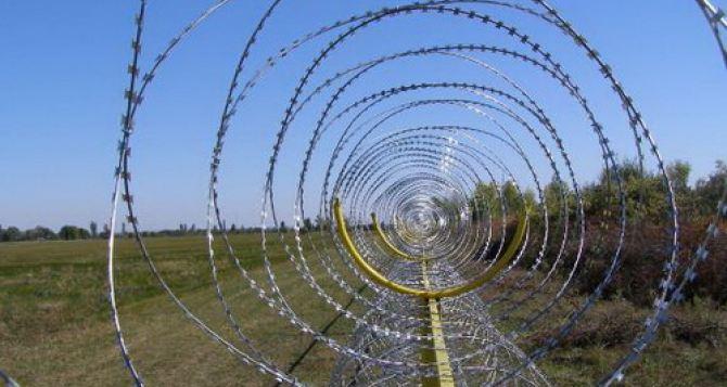 Почти 8,5 миллиардов гривен нужно для того, чтобы построить на границе «Стену»