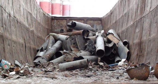 В Харькове на металлолом сдают взрывные части «Градов»