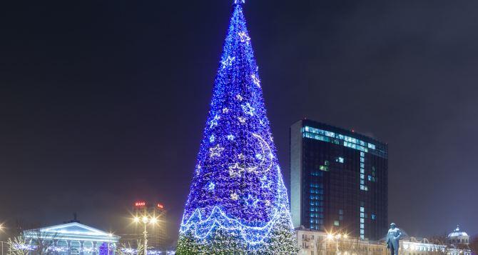 Открытие новогодней елки в Донецке (список мероприятий)