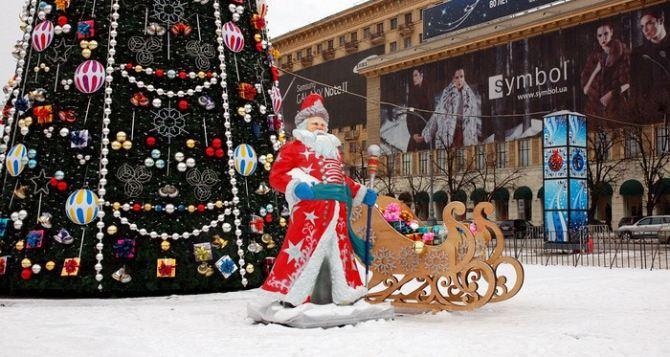 Каток, аллея елок, ярмарка— в Харькове заканчивают приготовления к Новому году