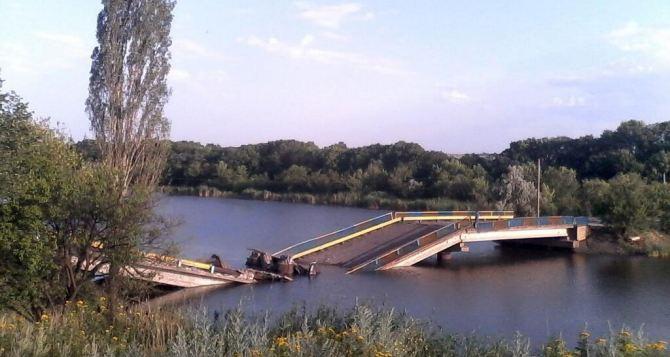 В Мариуполе подорвали железнодорожный мост