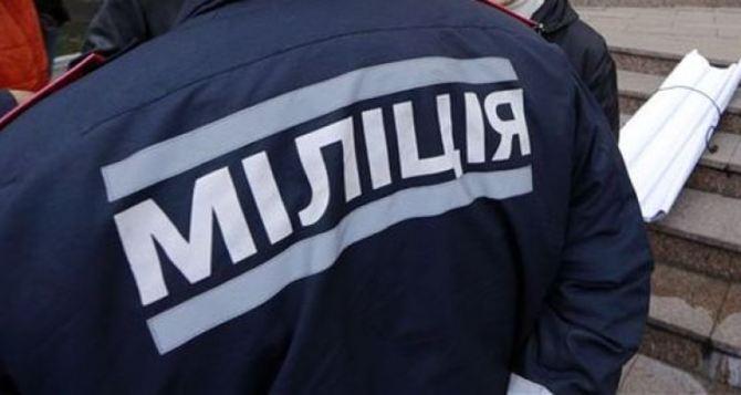 Луганская милиция работает в усиленном режиме