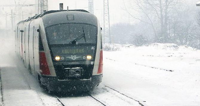 В рождественские праздники по Украине будут курсировать 15 дополнительных поездов