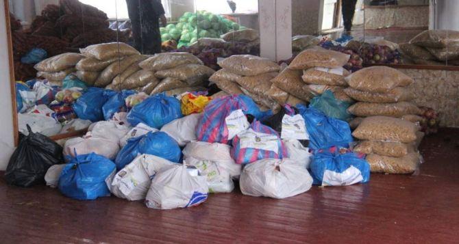 Два грузовика еды передала жителям Донецка религиозная организация