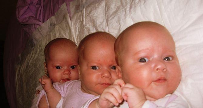 В Луганском перинатальном центре историческое событие: родилась тройня