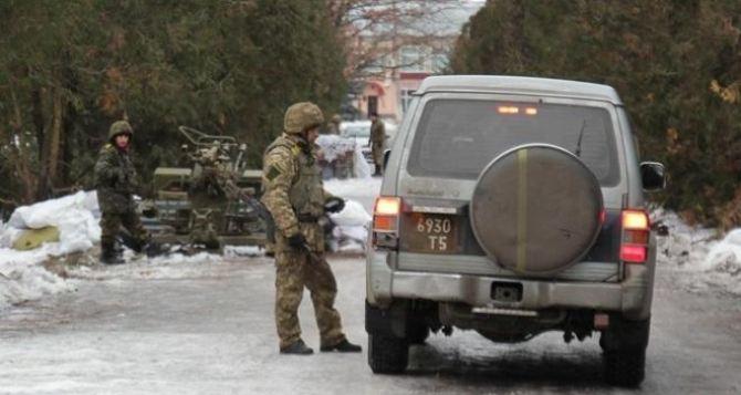 В зоне АТО на Донбассе начала действовать система пропусков