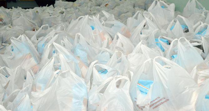 В Луганской области раздадут 3700 продуктовых наборов от австралийской организации