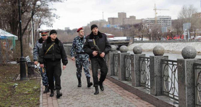 В Харькове введен режим усиленного патрулирования