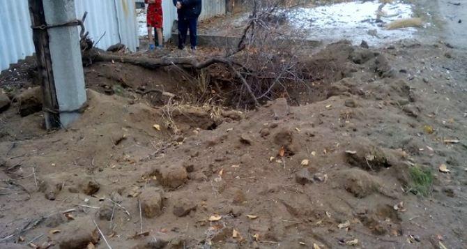 В Золотом Луганской области в результате обстрела погибла женщина