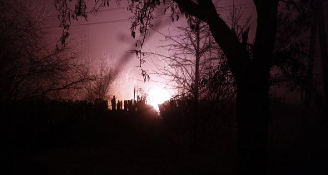 Стаханов обстреляли предположительно из «Урагана». —Местные жители (фото)