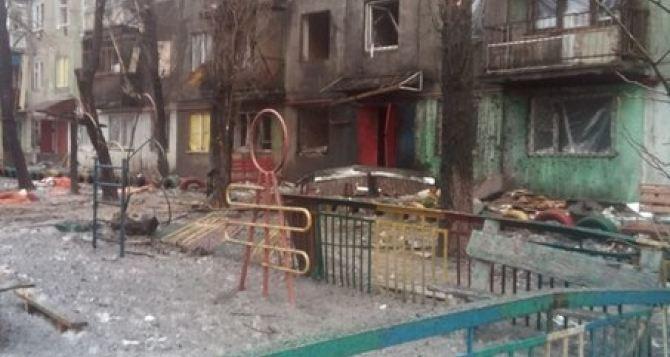 Стаханов три раза попал под «Ураган». —Сводка боевых действий в Луганской области 23января