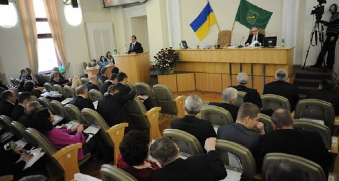 Харьковские депутаты просят Порошенко обеспечить в городе порядок и безопасность