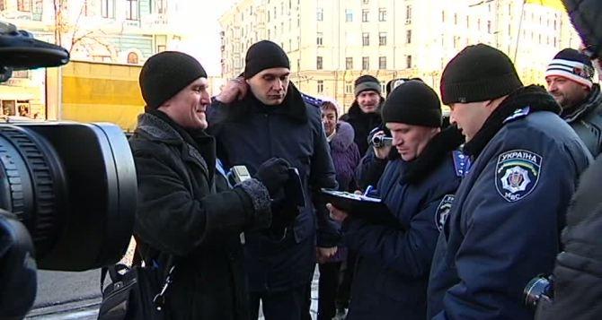 В Харькове силовики могут проверять у горожан сумки. Наличие документов— обязательно