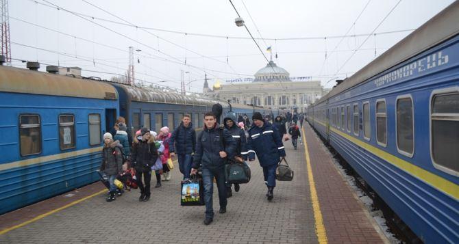 В Луганской области зарегистрировано более 110 тысяч переселенцев из ЛНР