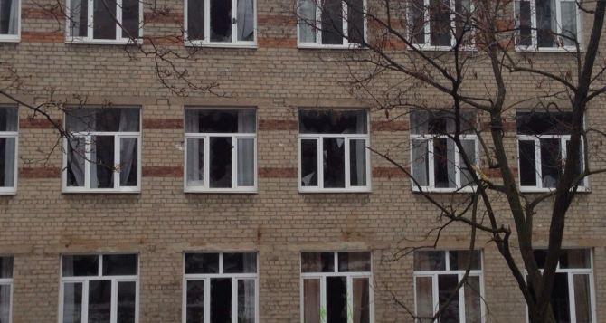 Донецк под обстрелом: бульвар Шевченко (фото)