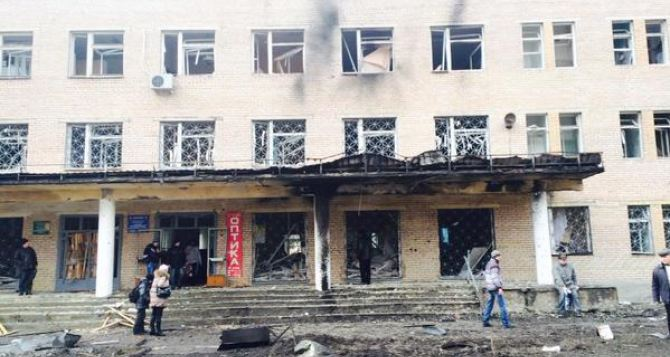 В Донецке под обстрел попала больница. Есть жертвы +