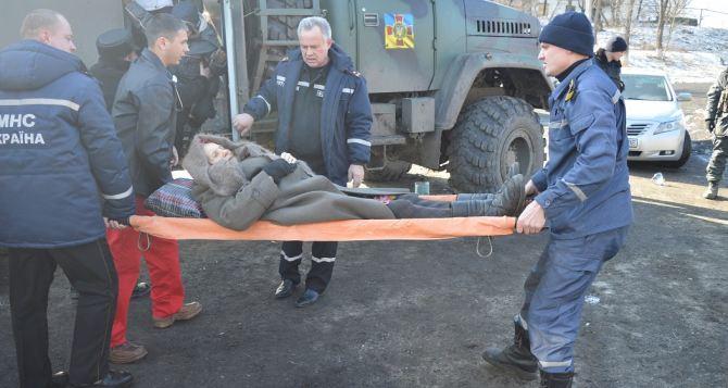Эвакуация мирных жителей в Луганской области: село Крымское (фото)