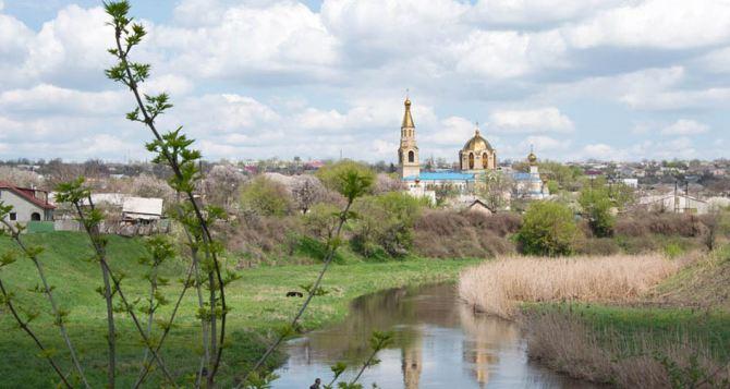 Из-за обстрелов река Лугань загрязнена шламами