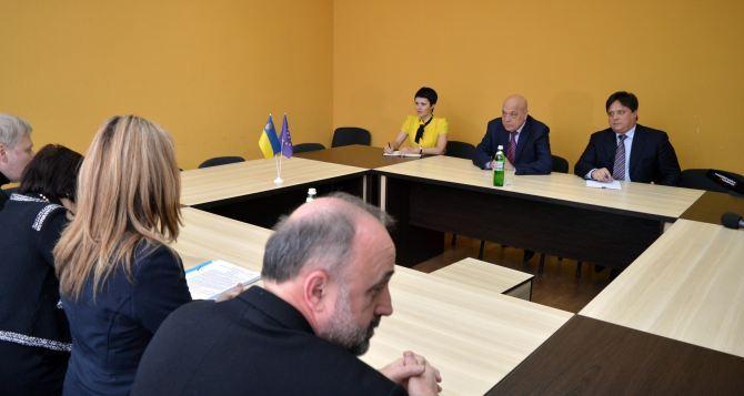 Москаль встретился с представителями ПАСЕ