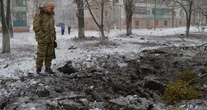 В Луганской области возобновились обстрелы. —Москаль