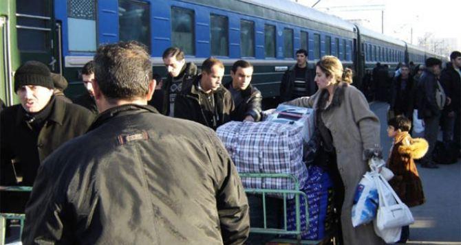 В феврале «Укрзализныця» бесплатно вывезла почти 4 тысячи переселенцев