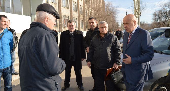 В Северодонецк Луганской области привезли гуманитарку от верующих Западной Украины