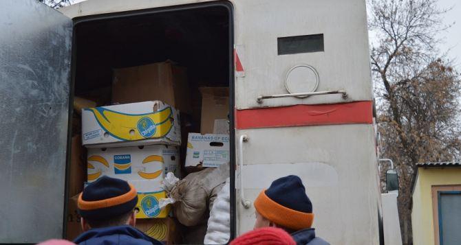 В Северодонецк прибыло 40 тонн гуманитарки из Житомирской области (фото)