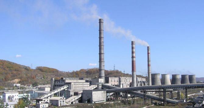 Углегорская ТЭС в ближайшее время возобновит работу