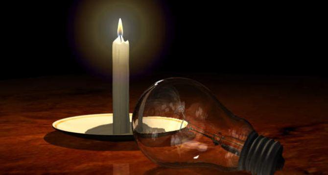 В Донецкой области без света остались 10 населенных пунктов