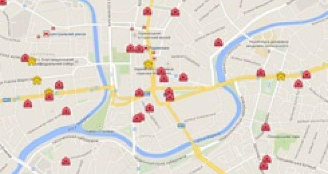 В Харькове появилась интерактивная карта бомбоубежищ