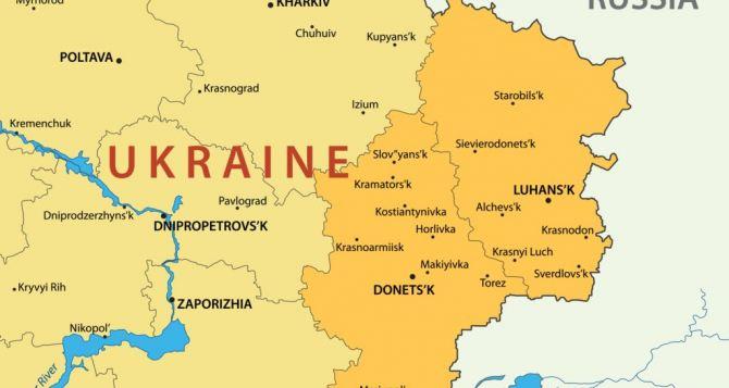 В СНБО определили границы районов Донбасса с особым статусом