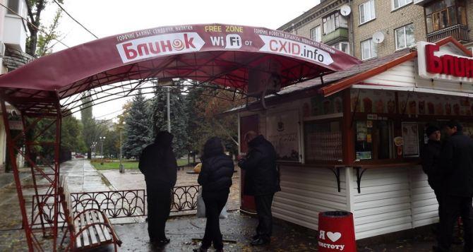 В Луганске запретили любую торговлю с 22:00 до 8:00