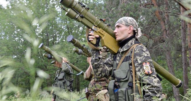 В самопровозглашенной ЛНР у населения изымают гранатометы, боеприпасы, ПЗРК