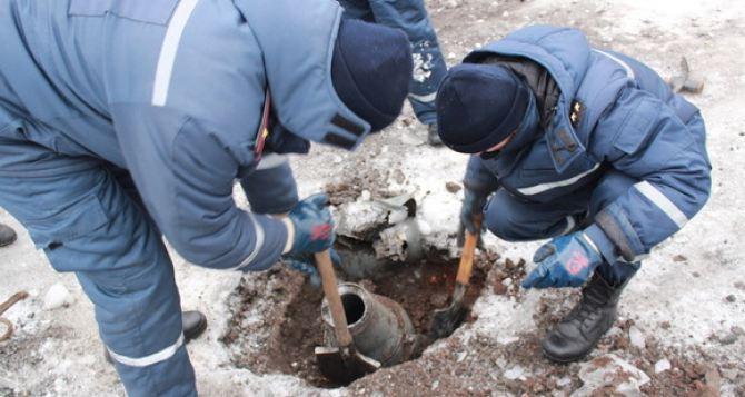 В Луганской области на мине подорвалась машина пиротехников
