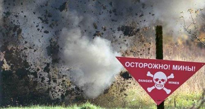 В Луганской области на фугасе подорвалась «Нива» с мирными жителями
