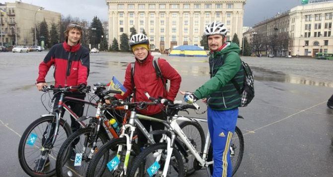 Харьковчане пересели на велосипеды: дешево и здорОво