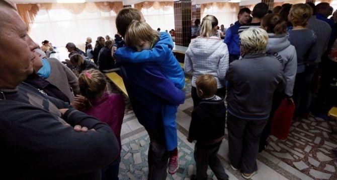 В Украине зарегистрировали более 1 миллиона переселенцев