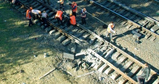 Железной дороге в зоне АТО за три месяца нанесли ущерб на 1,5 миллиона гривен