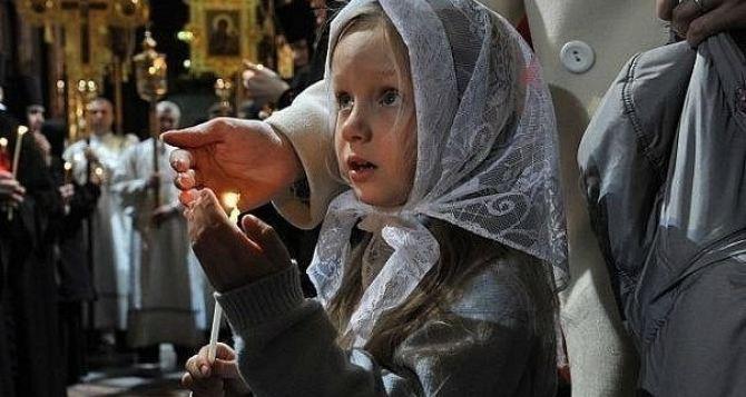 В Луганске пасхальное богослужение покажут в прямом эфире