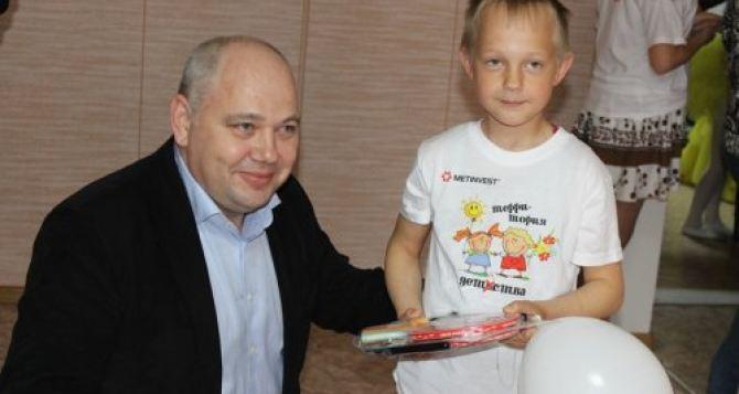 «Краснодонуголь» выделил 230 тысяч для краснодонской комнаты школьника