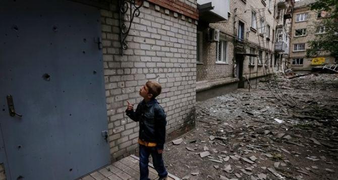 174 ребенка получили ранения в зоне АТО. —Кулеба