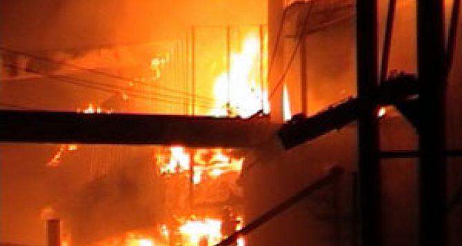 Из-за пожара на электроподстанции часть Харькова осталась без горячей воды