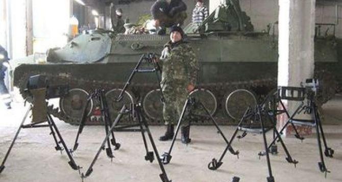 Харьковские инженеры усовершенствовали пулемёт Калашникова