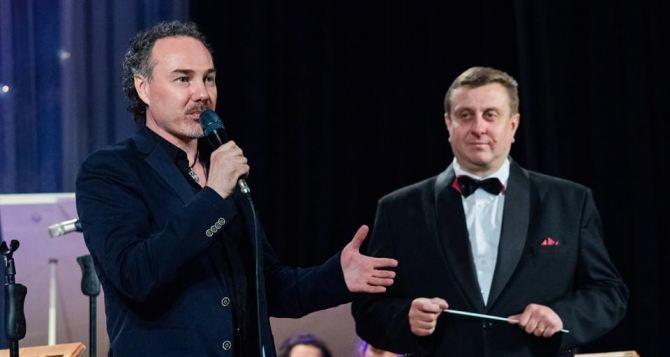 Российский певец Джанго посетил Луганск с концертом
