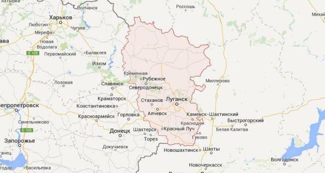 В Горском Луганской области минометная мина попала в частный дом