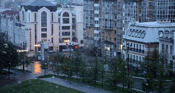Синоптики объявили в Луганске штормовое предупреждение