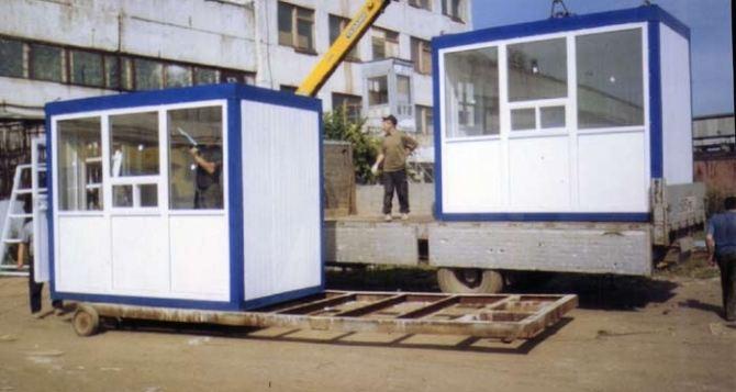 В Луганске демонтировали 12 незаконно установленных киосков (видео)