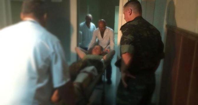 После вчерашних боев в харьковский военный госпиталь доставлено более 20 бойцов